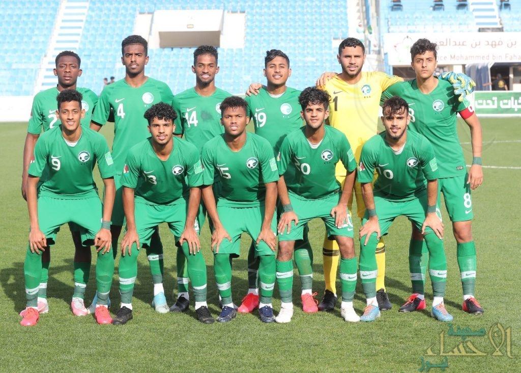 المنتخب السعودي يودع البطولة العربية لمنتخبات الشباب
