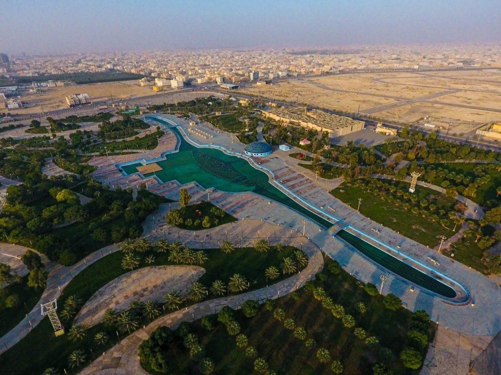 """تنفيذ خطط تطويرية وإجراءات تأهيلية لمنتزه الملك عبدالله البيئي بـ""""الأحساء"""""""