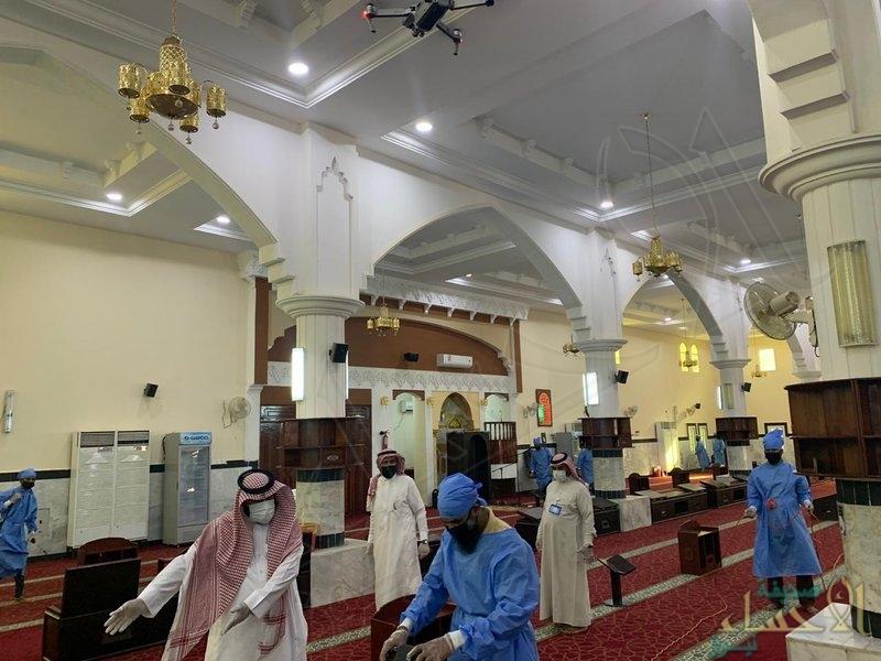 """""""الشؤون الإسلامية"""": جاهزون لفتح 90 ألف مسجد بالمملكة وفرق التعقيم أنهت مهمتها"""