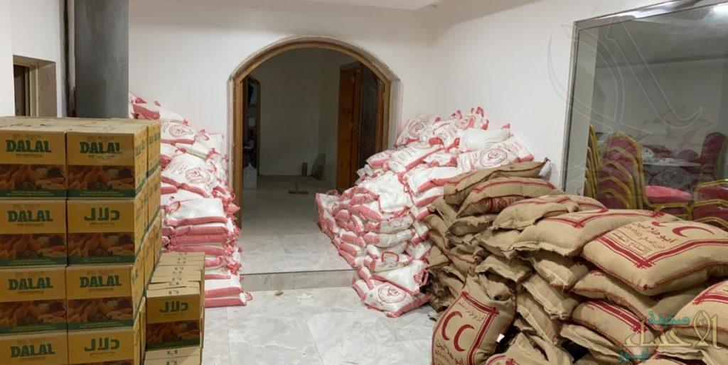 """""""الدعوة و الإرشاد"""" بالعيون توزّع 300 سلة غذائية في رمضان"""