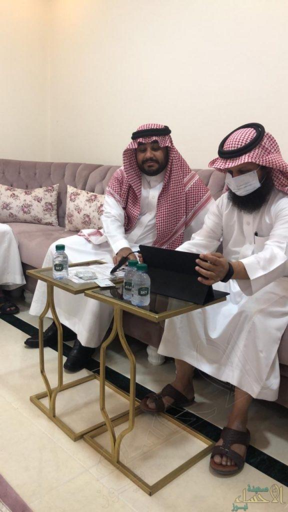 """""""المديني"""" تحتفل بعقد قران عبدالعزيز"""