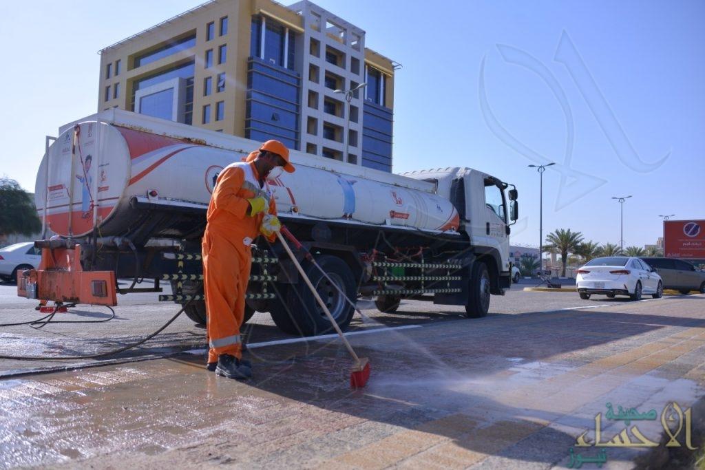 تفادياً لحرارة الصيف … تعديل ساعات العمل لعمال النظافة في الأحساء