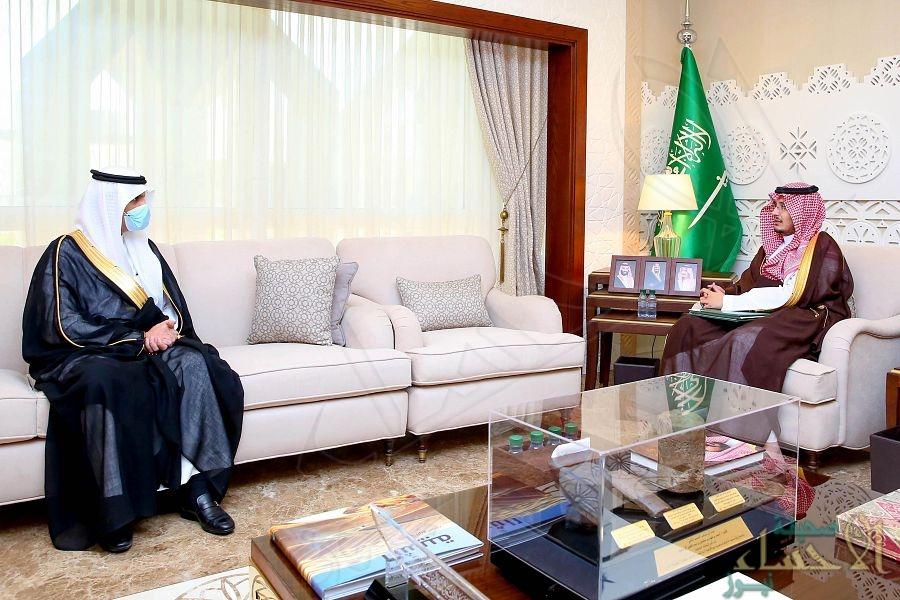 سمو نائب أمير الشرقية يلتقي الرئيس التنفيذي المكلف لشركة مطارات الدمام