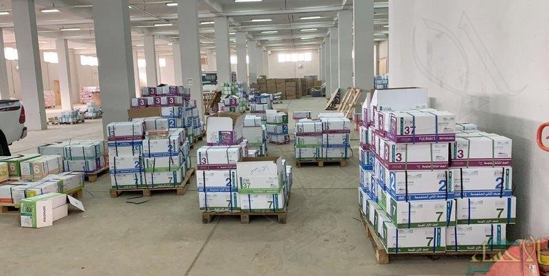 """""""التعليم"""" تبدأ توزيع الكتب الدراسية لإداراتها مع تطبيق الإجراءات الاحترازية"""