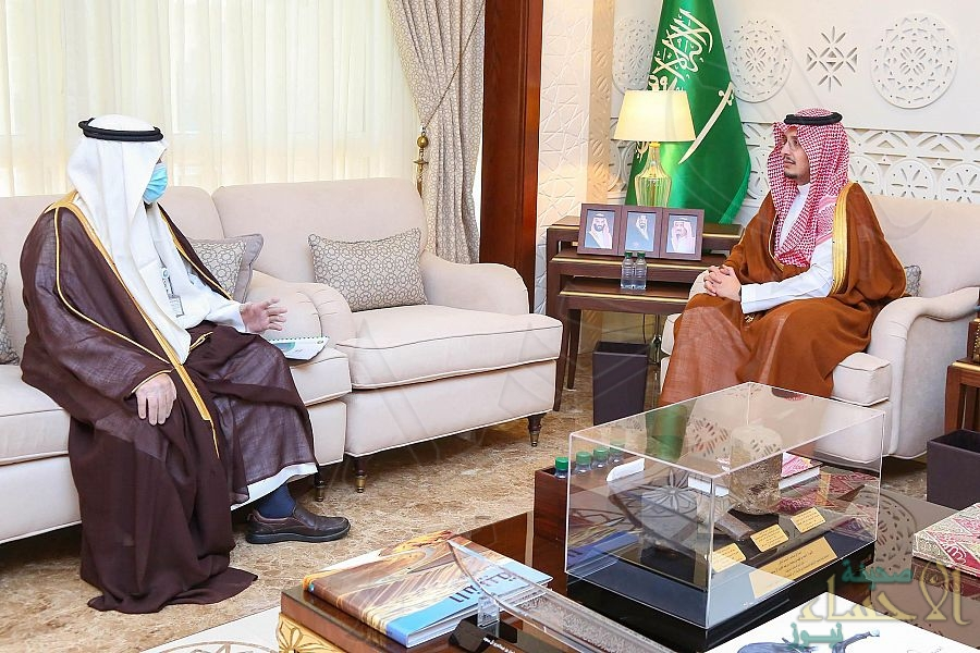 سمو نائب أمير الشرقية يستقبل رئيس القطاع الشرقي بشركة المياه الوطنية