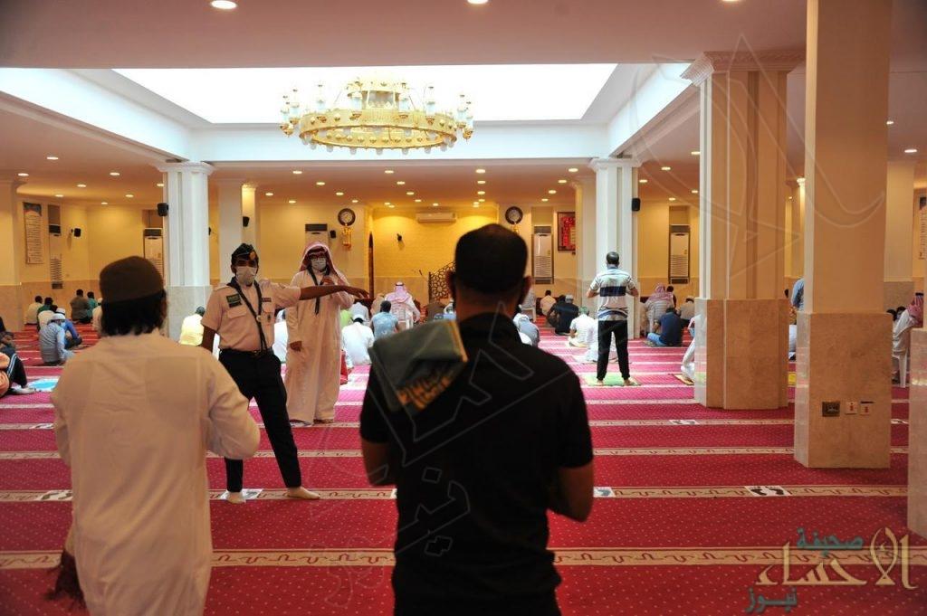 """""""سلامتك تهمنا"""" … مبادرة مميزة للمساهمة في حماية المصلين بمساجد الأحساء"""