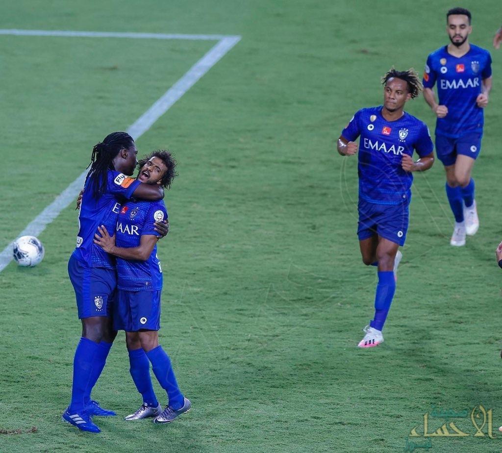 الهلال يكتسح الحزم برباعية ويتوج بلقب دوري كأس محمد بن سلمان للمحترفين (2019-2020)