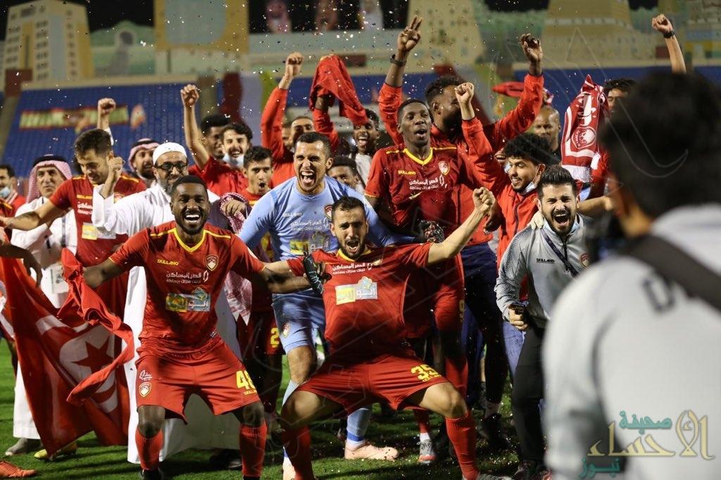 ضمك يحقق فوزًا مثيراً على الفتح ويضمن بقاءه في الدوري السعودي للمحترفين