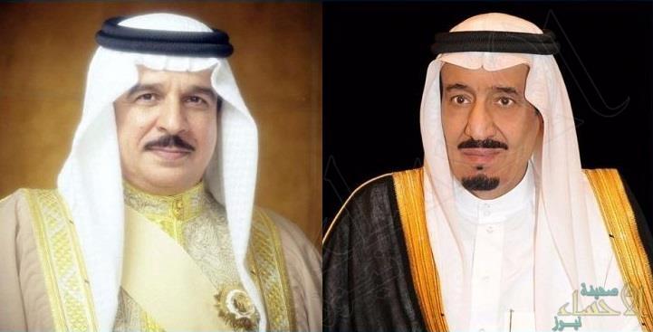 خادم الحرمين الشريفين يتلقى رسالة خطية من ملك البحرين