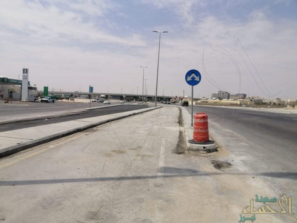 """في الأحساء … الانتهاء من تقاطع """"دوار الخليج"""" ومصادر: هذه خطة التقاطعات المستقبلية"""