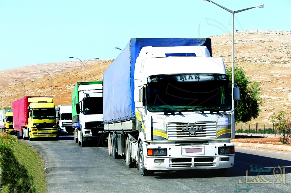 منع الشاحنات الأجنبية من تحميل البضائع داخل السعودية