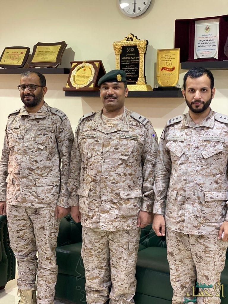ترقية فهد بن سعد السبيعي الى رتبة رئيس رقباء