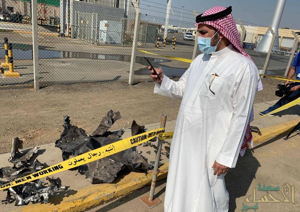 """معلومات جديدة تكشفها """"أرامكو"""" عن """"هجوم جدة الإرهابي"""" … هكذا تعاملت مع """"الحريق الضخم"""" للخزان"""