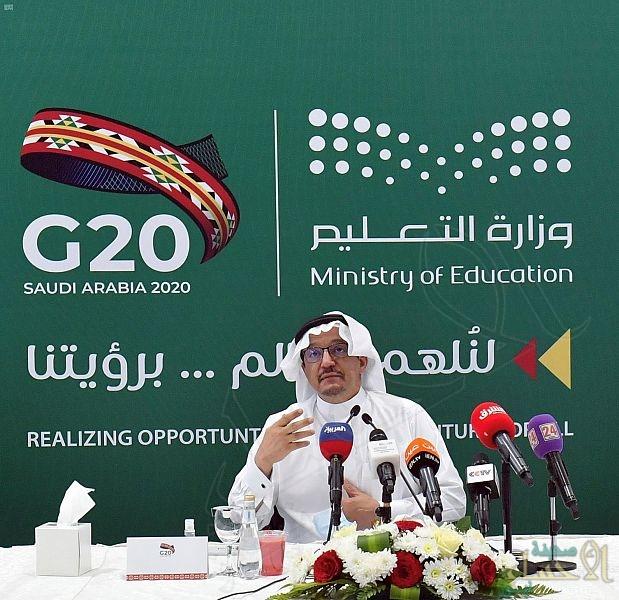 """""""آل الشيخ"""": منصة مدرستي مشروع وطني مستمر .. وتجاوزنا نسبة 98% لدخول الطلاب والطالبات"""