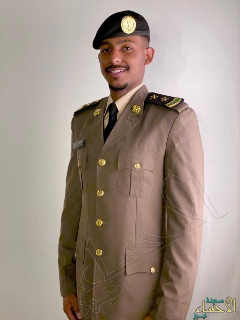 """ترقية """"عبدالله الدوسري"""" لرتبة ملازم أول"""