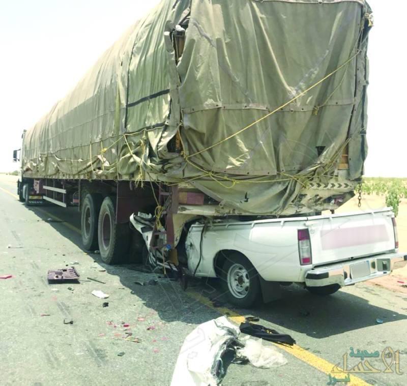 """مصادر """"الأحساء نيوز"""": حملة ضخمة لرصد مخالفات حواجز الشاحنات في الأحساء"""