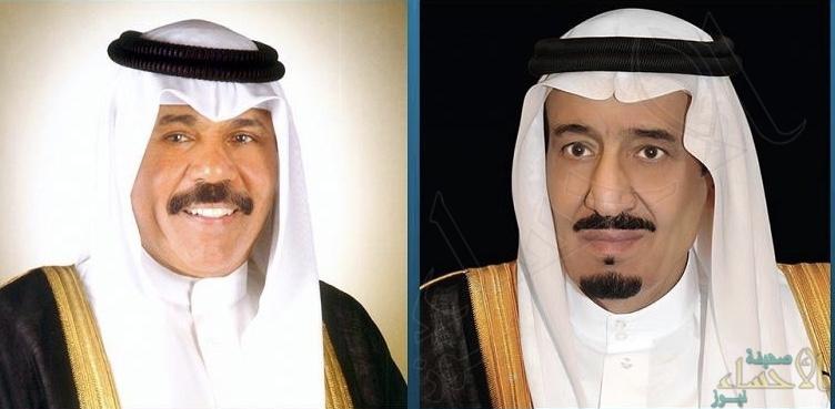 """""""الملك سلمان"""" يهنئ هاتفيًا أمير الكويت بتشكيل أول حكومة في عهده"""