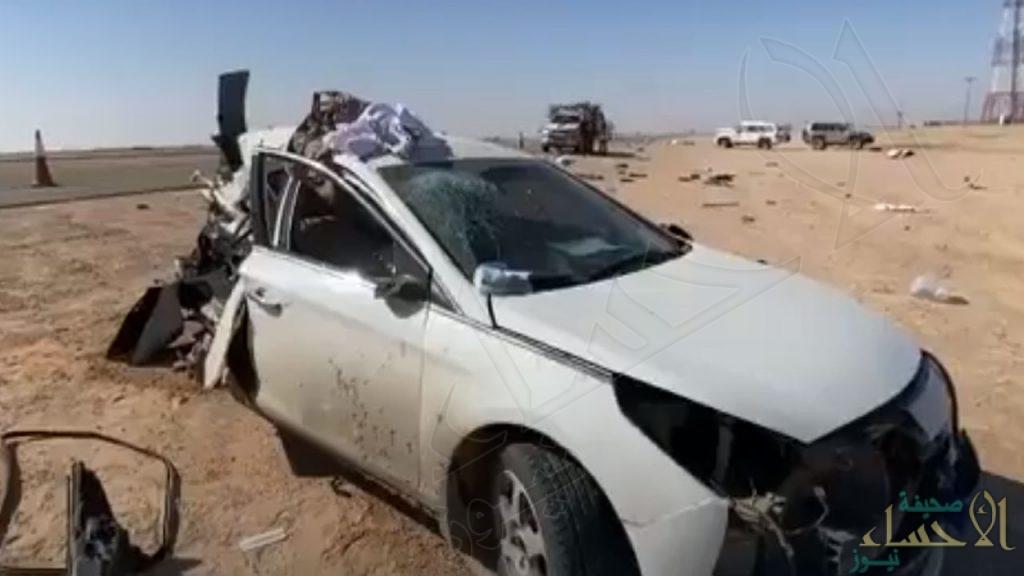 بالفيديو.. حادث مروع يحول نزهة أسرة إلى مأساة أليمة
