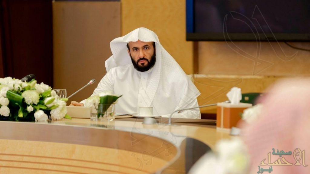 """لاختصار الوقت والجهد.. وزير العدل يطلق نظام """"تنفيذ"""" بجميع محاكم المملكة"""