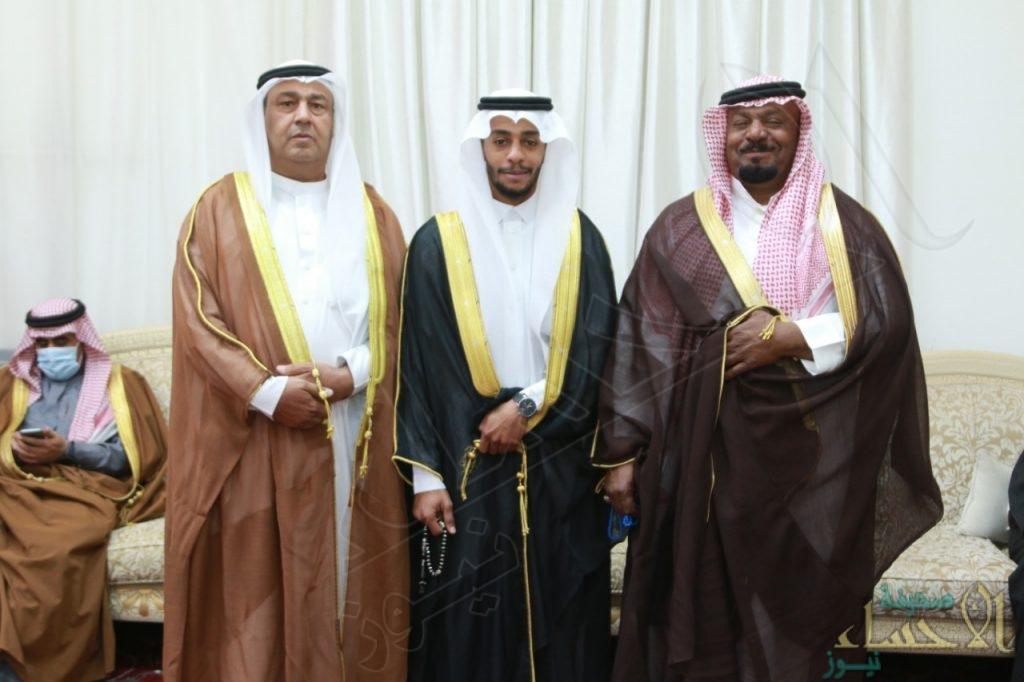 """""""الجمعة"""" و""""العبدالله"""" تحتفلان بزواج """"باسم"""""""
