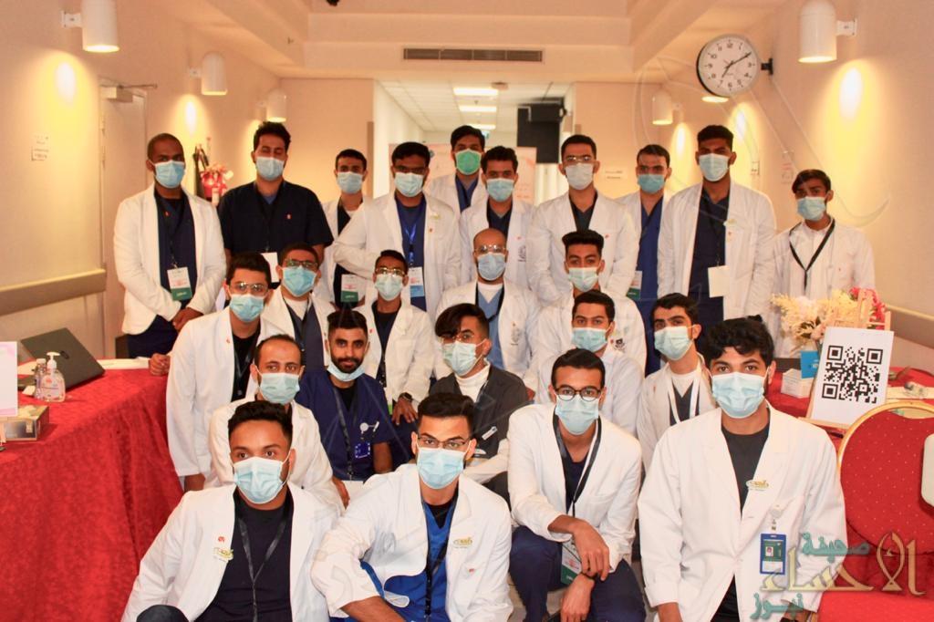 324 متقدم للتبرع  بالدم في حملة التبرع بالدم التاسعة بجمعية الرميلة (تغطية مصورة)
