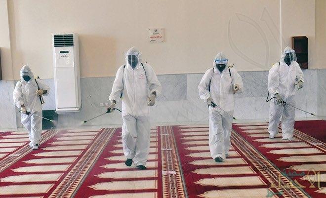 إغلاق 17 مسجداً مؤقتاً بـ 6 مناطق بعد ثبوت حالات إصابة بكورونا