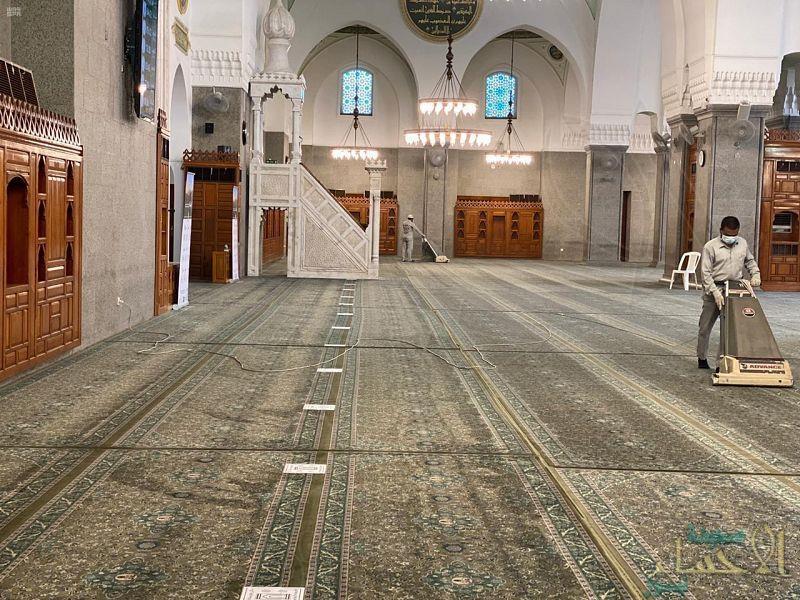"""""""الشؤون الإسلامية"""" تغلق 10 مساجد بعدد من المناطق بعد ثبوت تسجيل إصابات بكورونا"""