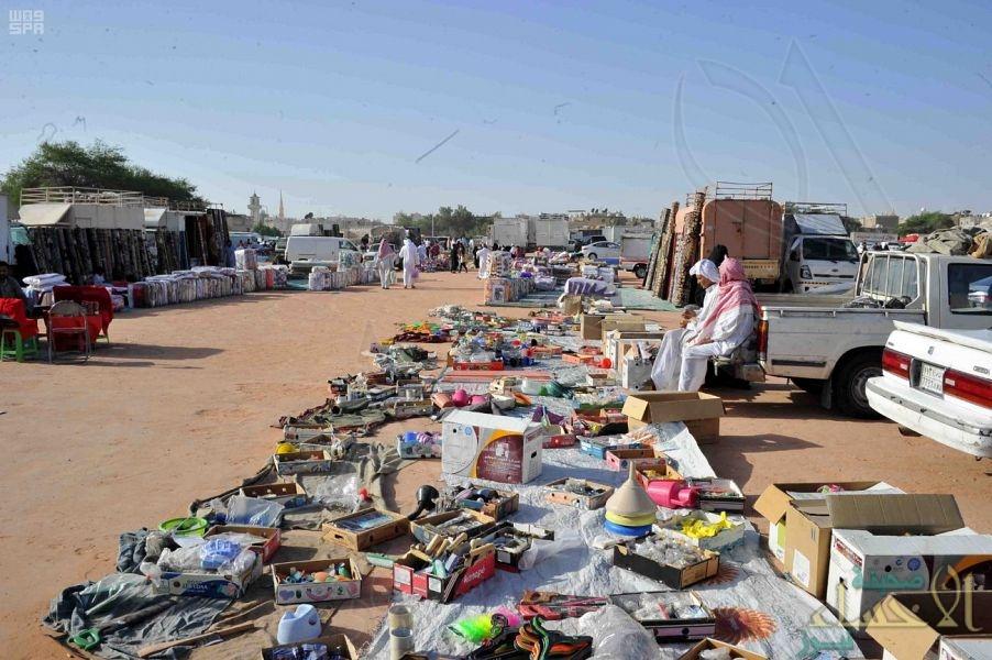 أمانة الشرقية ترفع ١٦ طناً من المتروكات في سوق الحراج بالدمام
