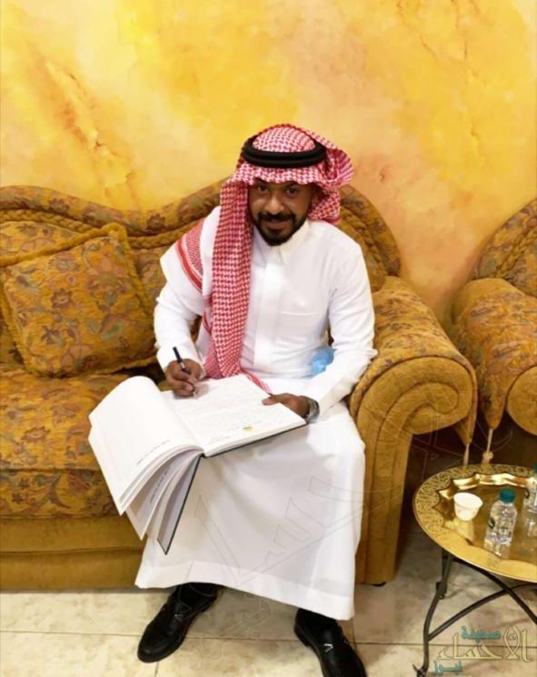 """أسرة """"المحارف"""" تحتفي بعقد قران ابنها """"أحمد"""""""