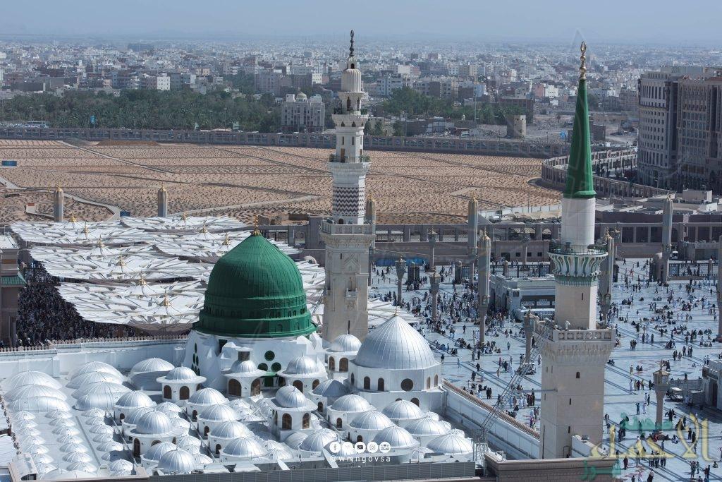 فتح المسجد النبوي في العشر الأواخر من رمضان على مدار الساعة .. إليك الخطة التشغيلية كاملة