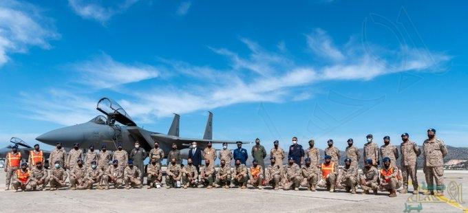 القوات الجوية السعودية تصل إلى اليونان للمشاركة في مناورات تمرين عين الصقر 1