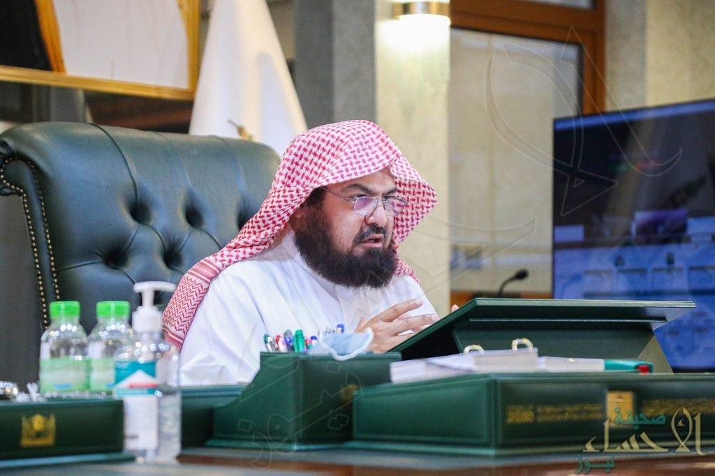 """""""السديس"""" يعتمد الخطة التشغيلية لموسم شهر رمضان بالحرمين الشريفين"""