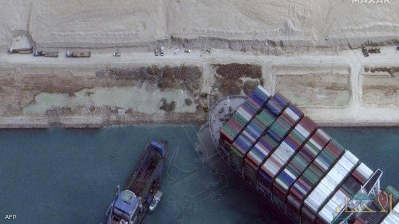 الكشف عن قيمة التعويض الذي طلبته مصر في أزمة السفينة الجانحة