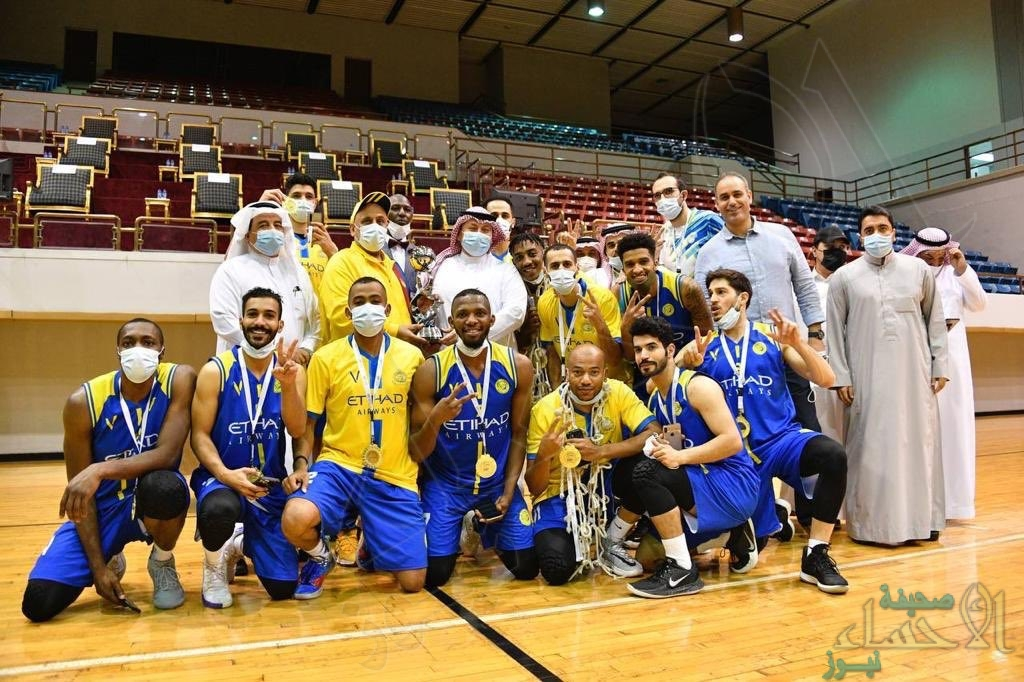 """بفوزه على الهلال """"النصر"""" يحقق كأس وزارة الرياضة لكرة السلة للمرة الثالثة في تاريخه"""