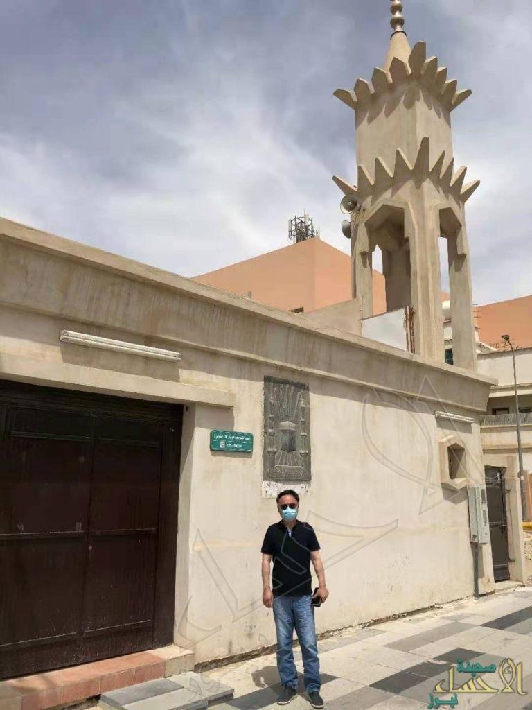 """في الأحساء … """"سفير الصين"""" يزور بيت البيعة ومسجد الشيخ أبو بكر"""