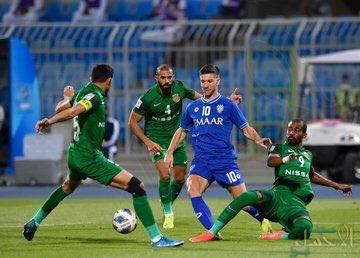 """بتعادل مثير أمام الدحيل """"الأهلي"""" يمنح الهلال بطاقة التأهل للدور ثمن النهائي"""