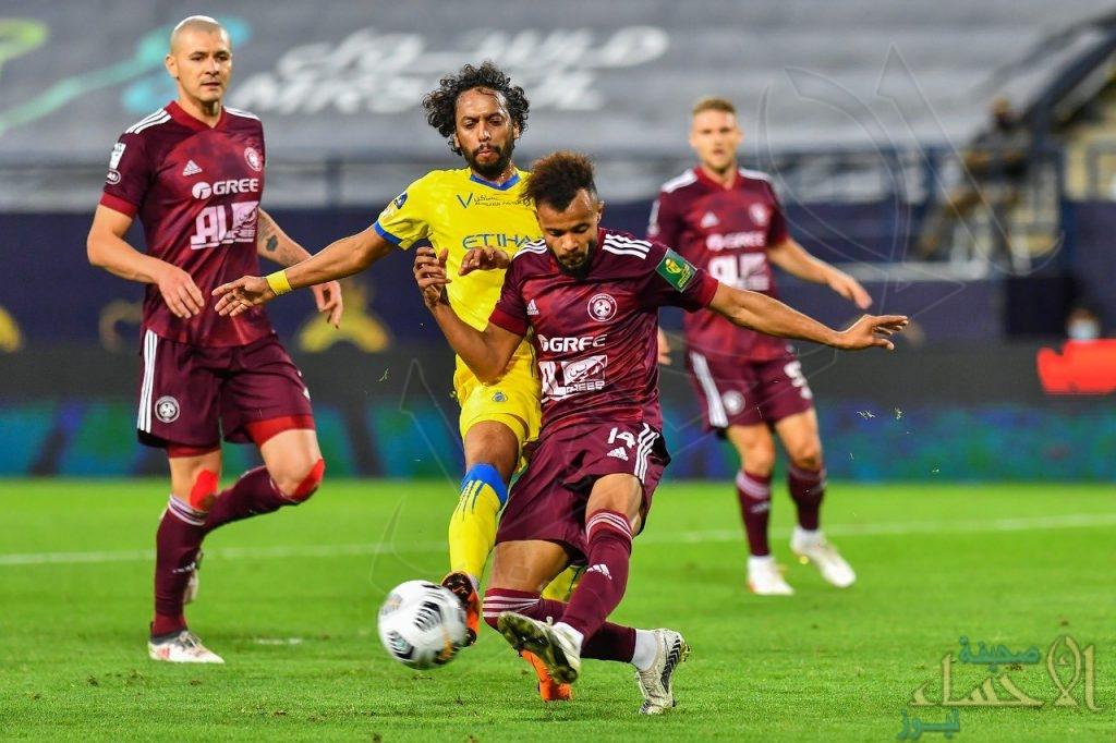 النصر يستضيف الفيصلي غداً في دوري كأس الأمير محمد بن سلمان
