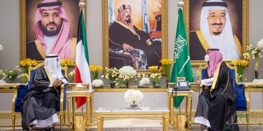 بالصور … السعودية أولى محطات ولي عهد الكويت الخارجية تجسيدًا للعلاقات المتميزة