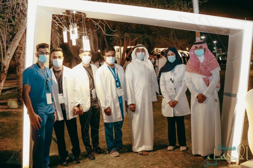 """بالتعاون مع خيرية الرميلة … """"وعي التطوعي"""" يُقيم معرضًا للتوعية بصحة """"الفم والأسنان"""" (صور)"""