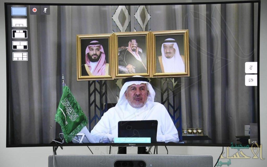 الربيعة: المملكة قدمت مساعدات في 69 دولة تجاوزت 5 مليارات دولار