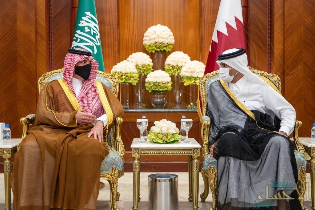 وزير الداخلية يصل قطر في زيارة رسمية