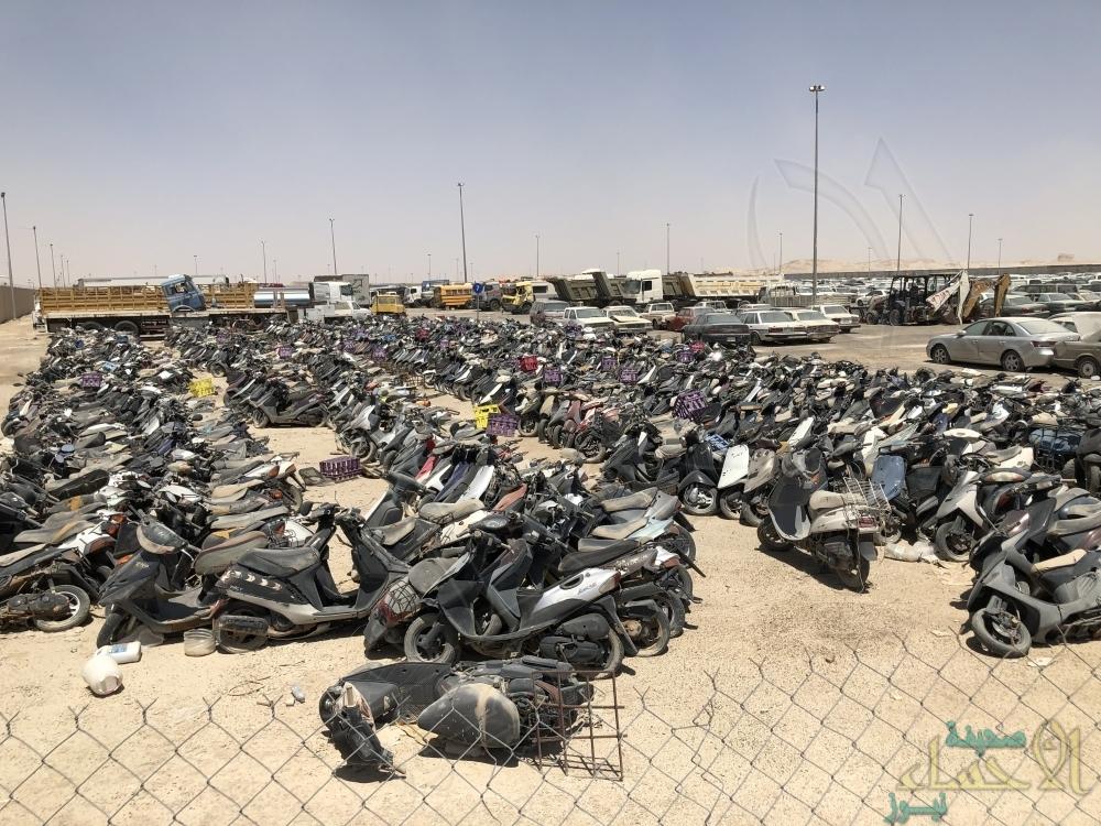 المرور يضبط 6 آلاف دراجة مخالفة في المناطق