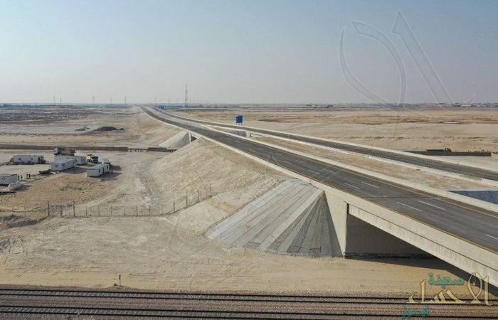 افتتاح الحركة المرورية جزئياً على الطريق الرابط بين طريق الظهران – بقيق وطريق العقير- سلوى