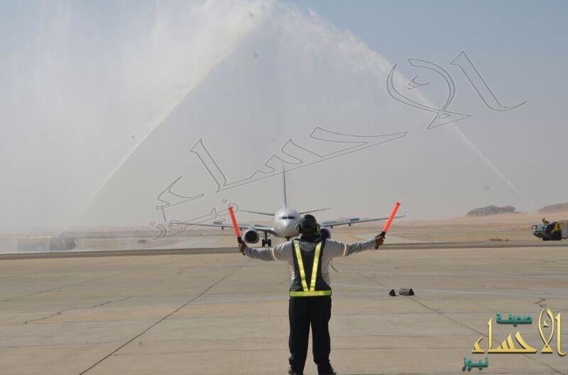 """⛔ توقف مفاجئ لـ""""فلاي دبي"""" وعودة """"طيران النيل"""" في هذه الأوقات لـ""""مطار الأحساء"""""""