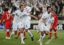 المنتخب البحريني يحرم الخليجيين من المشاركة في مونديال 2010  .
