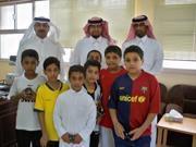 مدرسة جواثا الابتدائية تنظم بعض الأنشطة قبل العيد .