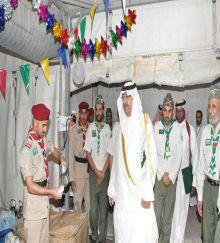 الأمير فيصل بن عبد الله العمل التطوعي سمة فخر لكل شاب سعودي  .