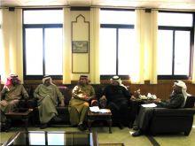 المجلس البلدي يلتقي مدير عام هيئة الري والصرف بالأحساء .