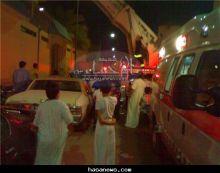 ( عاجـــــــــــــل ) إصابة 7 أشخاص إصابات بعضهم حرجة في حريق شب مساء اليوم في شقة بحي المسلخ بالهفوف .