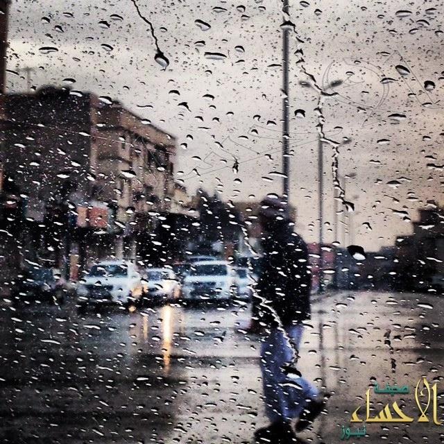 أمطار مصحوبة بموجة رياح تشهدها محافظة #الأحساء الأن